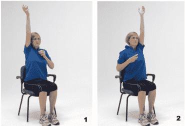 Afbeelding oefening 4 stappen op de plaats