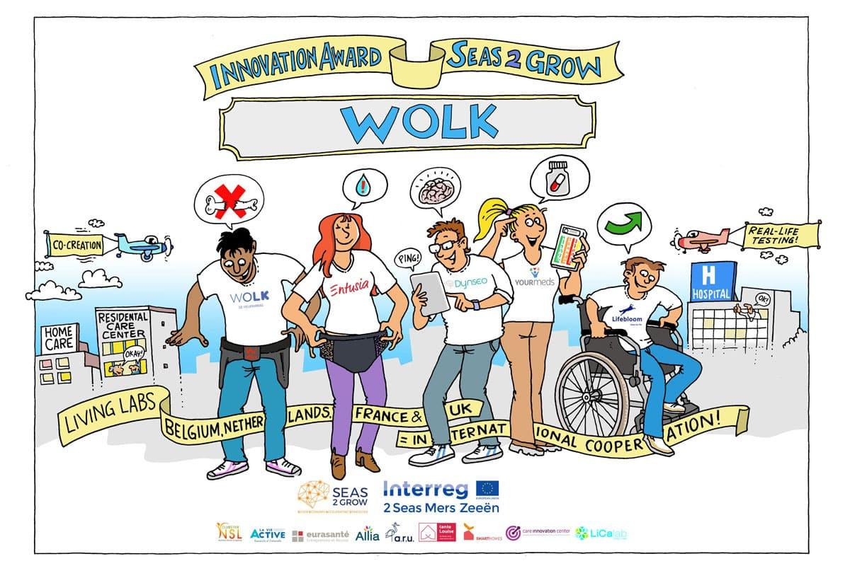Wolk wint Seas2Grow-award